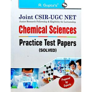 Joint Csir-Ugc Net Chemical Sciences Practice Test Papers Solved By Rph Editorial Board-(English)