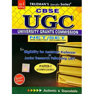 Trueman'S Ugc Net/Slet General Paper 1 By M Gagan, Sajit Kumar-(English)