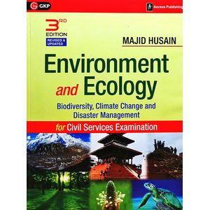 Environment And Ecology For Civil Services Examination By Majid Husain-(English)