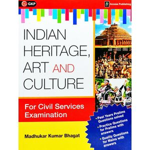 Indian Heritage, Art And Culture By Madhukar Kumar Bhagat-(English)