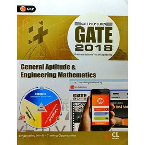 Gate 2018 General Aptitude & Engineering Mathematics By Editorial Team-(English)