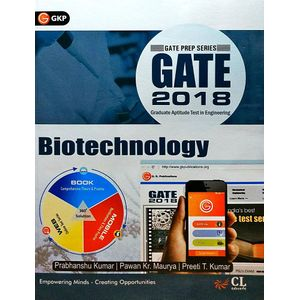 Gate 2018 Guide Biotechnology By Er Prabhanshu Kumar, Er Pawan Kr Maurya , Er Preeti T Kumar-(English)
