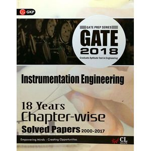 Gate 18 Years Chapter Wise Solved Papers Instrumentation Engg. (2000-2017) By Editorial Team-(English)