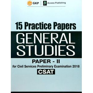 15 Practice Papers General Studies Paper 2 Csat For Civil Services Preliminary Examination By Editorial Team-(English)