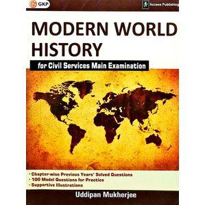 Modern World History For Civil Services Main Examination By Uddipan Mukherjee-(English)