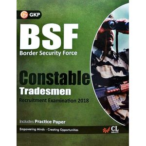 Bsf Border Security Force Constable Tradesman Recruitment Examination By Editorial Team-(English)