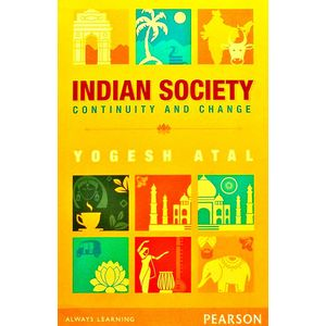 Indian Society Continuity And Change By Yogesh Atal-(English)