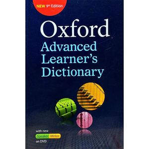 Oxford Advance Learners Dictionary With Dvd By Margaret Deuter, Jennifer Bradbery, Joanna Turnbull-(English)