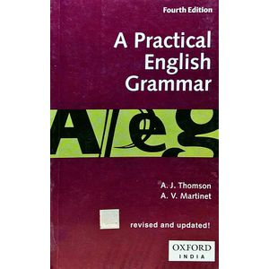 A Practical English Grammar By A J Thomson, A V Martinet-(English)