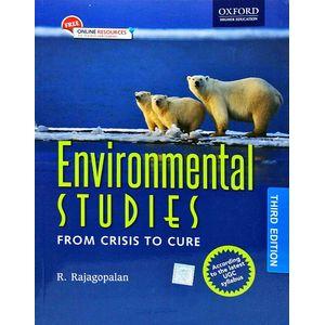 Environmental Studies From Crisis To Cure By R Rajagopalan-(English)