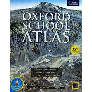 Oxford School Atlas By Oxford University Press-(English)