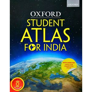 Oxford Student Atlas For India By Oxford University Press-(English)