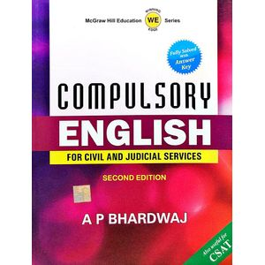 Compulsory English For Civil And Judicial Services By A P Bhardwaj-(English)