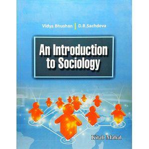 An Introduction To Sociology By Vidya Bhushan, Dr Sachdeva-(English)
