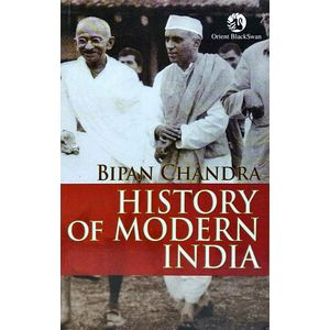 History Of Modern India By Bipin Chandra-(English)