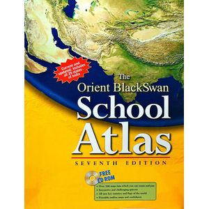 The Orient Blackswan School Atlas By Obc-(English)