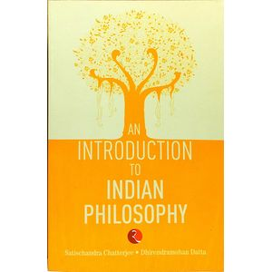 An Introduction To Indian Philosophy By Satishchandra Chatterjee, Dhirendramohan Datta-(English)