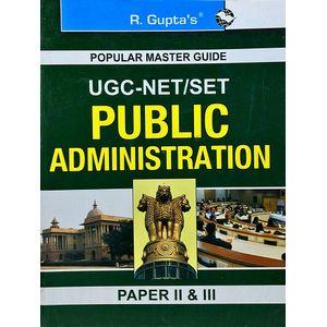 Ugc-Net/Set Public Administration Paper 2 & 3 By Uday Kumar Singh, Ajay Kumar-(English)