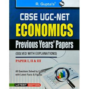 Cbse-Ugc-Net Economics Previous Papers 1,2,3 By Sanjay Kumar-(English)