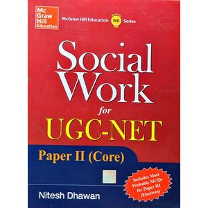 Social Work For Ugc Net Paper 2 Core By Nitesh Dhawan-(English)