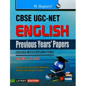 Ugc-Net English Previous Papers By Rph Editorial Board-(English)