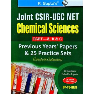 Joint Csir-Ugc Net/Jrf Chemical Sciences Previous Papers And 25 Practice Sets Solved By Rph Editorial Board-(English)