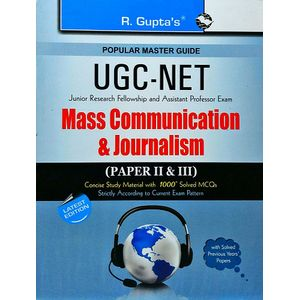 Ugc-Net Mass Communication & Journalism Paper 2 & 3 By R Gupta Experts-(English)