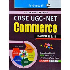 Cbse Ugc-Net Commerce Paper 2 & 3 By R Gupta Experts-(English)