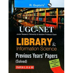 Cbse Ugc-Net Library & Information Science Papers 1,2,3 By Rph Editorial Board-(English)