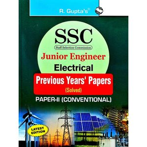 Ssc Junior Engineer Exam Electrical Paper 2 Conventional Previous Years' Papers By Rph Editorial Board-(English)