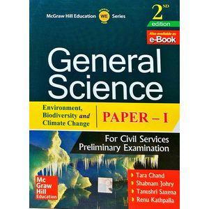 General Science Environment, Biodiversity, Climate Change Paper 1 By Tara Chand, Shabnam Johry, Tanushri Saxena, Renu Kathpalia-(English)