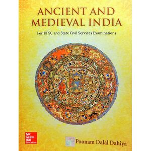 Ancient And Medieval India By Poonam Dalal Dahiya-(English)