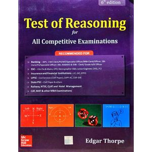 Test Of Reasoning By Edgar Thorpe-(English)