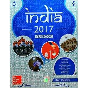 India 2017 Yearbook By Rajiv Mehrishi-(English)