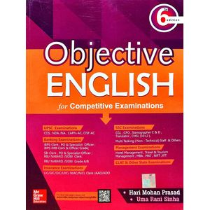 Objective English For Competitive Examinations By Hari Mohan Prasad, Uma Rani Sinha-(English)