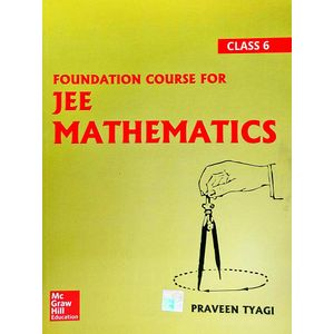 Foundation Course For Jee Mathematics Class 6 By Praveen Tyagi-(English)