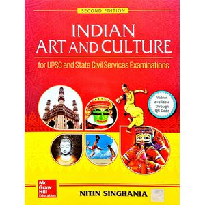 Indian Art And Culture By Nitin Singhania-(English)