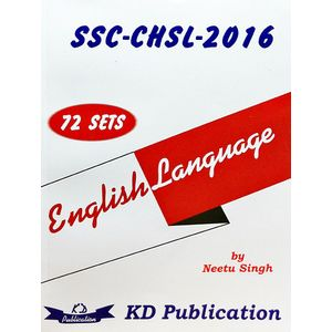 Ssc Chsl 72 Sets Of English Language By Neetu Singh-(English)