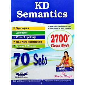 Kd Semantics 70 Sets By Neetu Singh-(English)