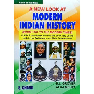 Modern Indian History By B L Grover, Alka Mehta-(English)