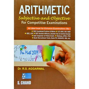 Arithmetic For Competitive Examinations By Dr R S Aggarwal-(English)