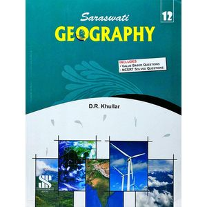 Geography For Class 12 By D R Khullar-(English)