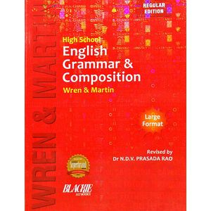 High School English Grammar & Composition Wren And Martin By Pc Wren, Martin H-(English)