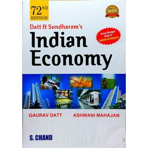 Indian Economy By Ashwani Mahajan, Gaurav Datt-(English)