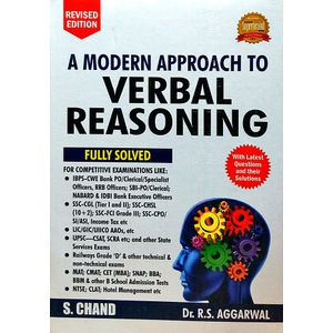 A Modern Approach To Verbal Reasoning By R S Aggarwal-(English)