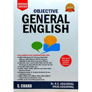 Objective General English By Dr R S Aggarwal, Vikas Aggarwal-(English)
