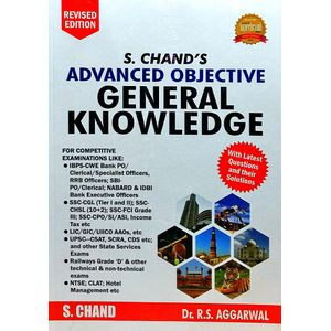 S Chand'S Advanced Objective General Knowledge By R S Aggarwal-(English)