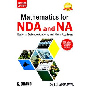 Mathematics For Nda And Na By Dr R S Aggarwal-(English)