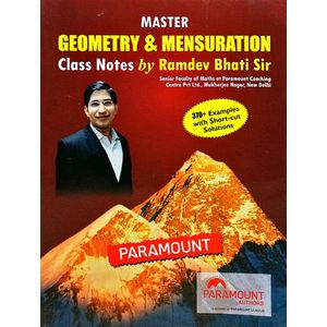Master Geometry & Mensuration Class Note By Ramdev Bhati Sir-(English)