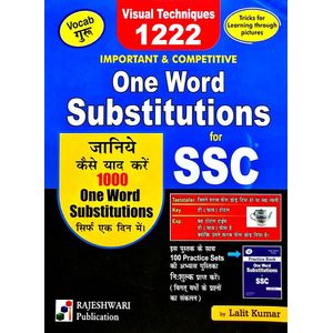 One Word Substitutions For Ssc By Lalit Kumar-(Hindi)
